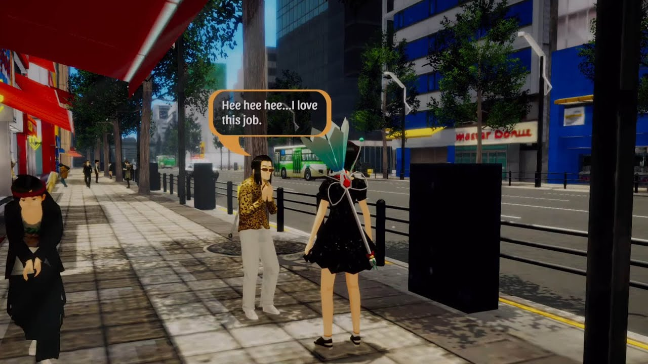 Akiba's Trip: Hellbound & Debriefed Pretending To Be A Girl (Trapping Perv)