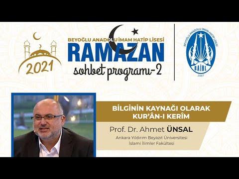 Bilgini Kaynağı Kur'an-ı Kerim - Prof.Dr.Ahmet ÜNSAL - Beyoğlu Anadolu İmam Hatip Lisesi indir