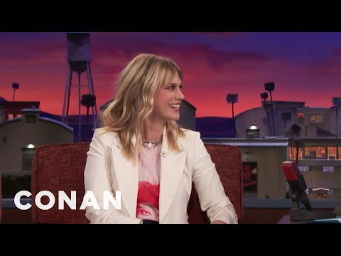 January Jones' Intense Dream About Dwayne Johnson   CONAN on TBS