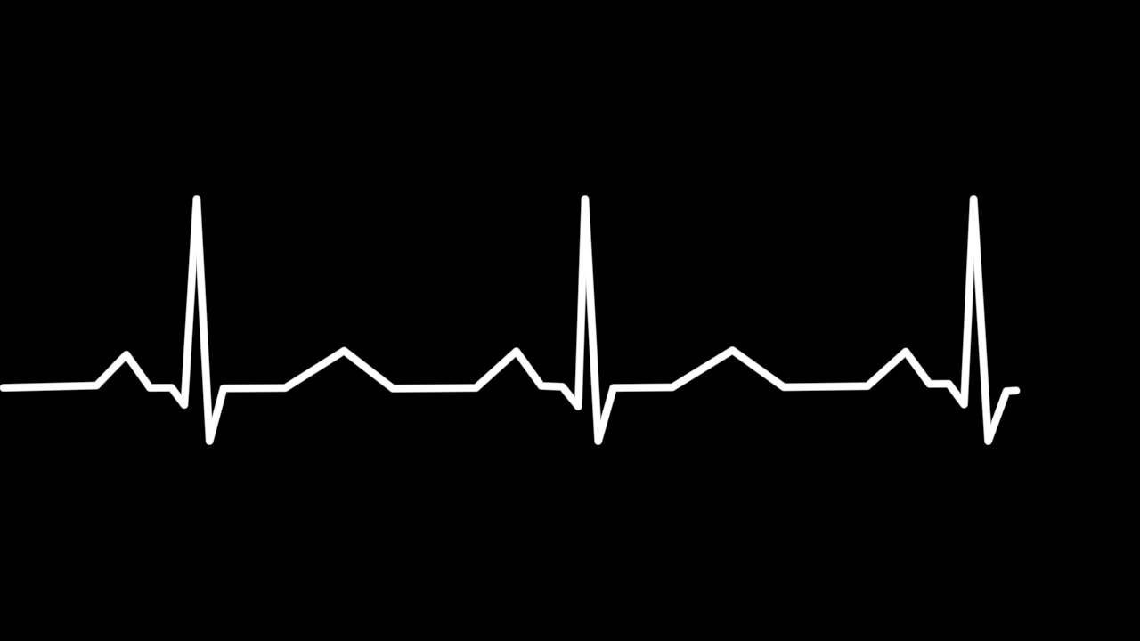 Red And Blue Heart Hd Wallpapers Ekg Wave Heart Beat Youtube