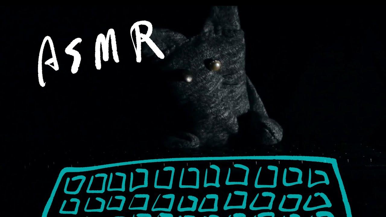【パペット猫によるASMR】No,2
