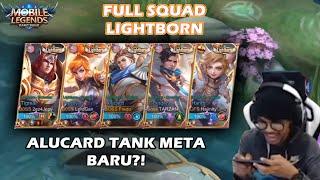 Download Mp3 Fredo Bawa Alucard Tank?! Alucard Tank Meta Baru?! Squad Riuhrusuh Full Lightbor