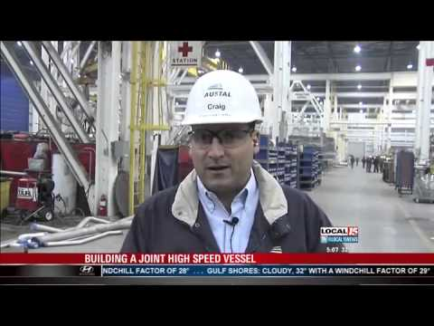 Austal USA - Building a Joint High Speed Vessel