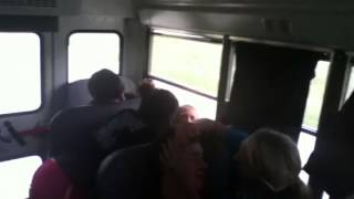 What do guys do in the bus when we