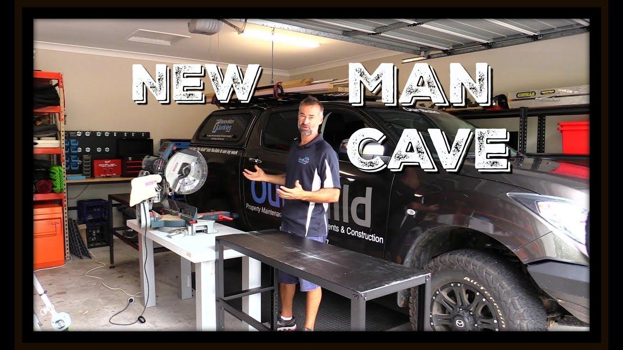 50 Awesome Man Caves For Men - Masculine Interior Design Ideas  |Garage Man Cave Shop