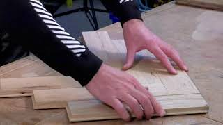 What is Parquet Wood Flooring and How to Install it in a herringbone pattern