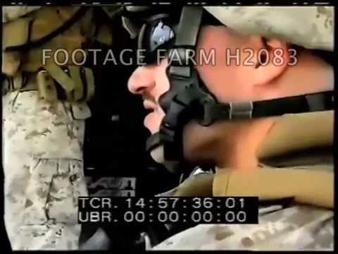 2006 Iraq War: Ramadi, US Marines w/ Iraqi Army  H2083-03 | Footage Farm