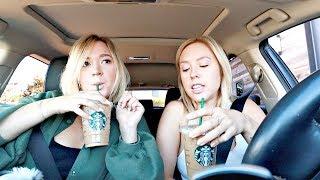 Carpool, Coffee + Chit Chat! | Ashley Nichole Vlogs