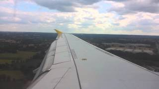 Vueling Airlines Airbus A320-214 Landing Rennes