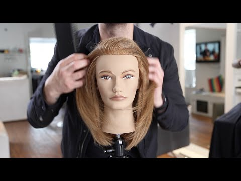 Long Layered Haircut Tutorial For Fine Hair MATT BECK