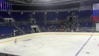 11 09 2016 контрольные прокаты сборной России по фигурному катанию 8