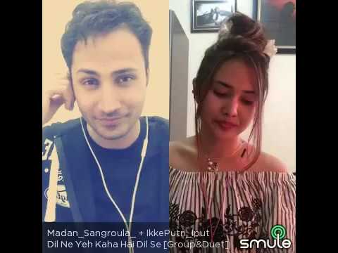Dil ne Yeh kaha hai Dil Se cover by Madan Sangroula And ikke putri