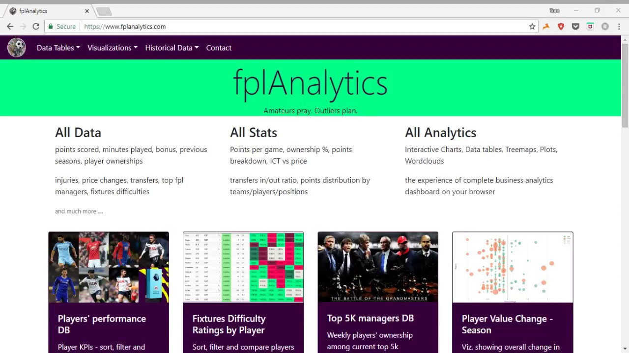 Essential FPL Tools & Resources for the 2018/19 Season - Fantasy Premier  League