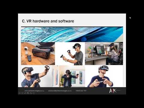 The VR landscape and presentation techniques