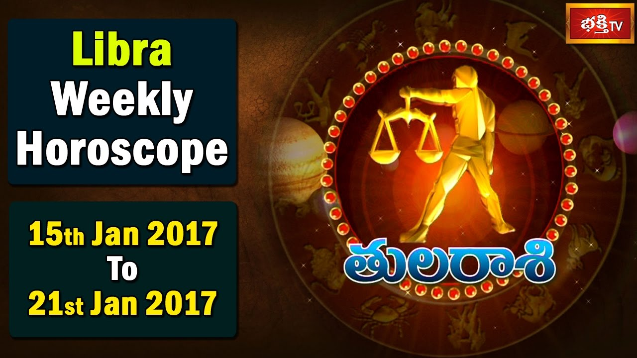 libra weekly horoscope 15 january