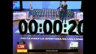 C5N - Eleccion 2015: Abrieron las mesas de votacion