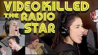 Смотреть клип Walk Off The Earth Ft. Sarah Silverman - Video Killed The Radio Star