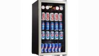 Danby 120 Can Beverage Cooler w/ Lock- DBC120BLS Thumbnail
