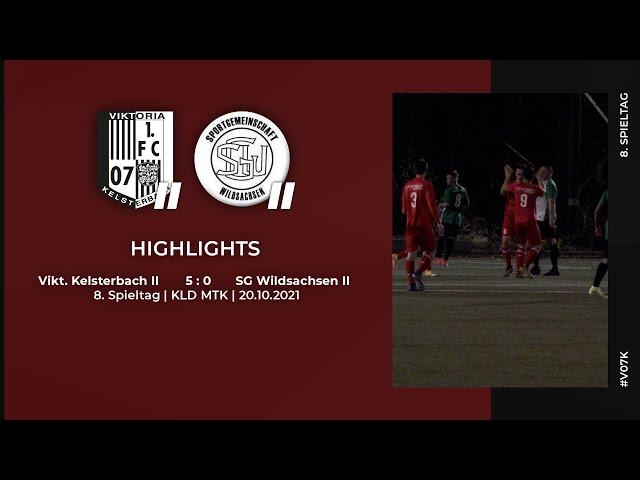 Viktoria Kelsterbach II - SG Wildsachsen II   8. Spieltag   Highlights   20.10.2021
