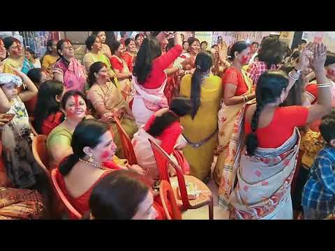 SINDUR KHELA & DANCE VIDEO DURGA MANDIR HIRAPUR ,DHANBAD,JHARKHAND (DMRCT)