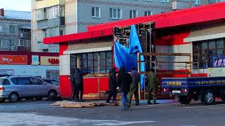В областном центре загорелось кафе китайской кухни