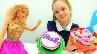 День рождения Барби - Пластилин PlayDo - Игры для девочек
