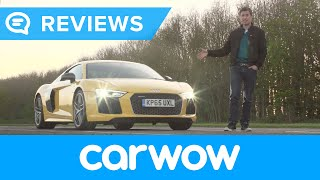 Audi R8 V10 Plus Supercar 2017 review | Mat Watson Reviews