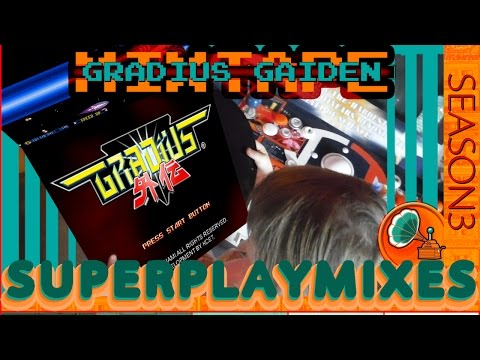 Superplay Mix S3E2 GRADIUS GAIDEN ♬New Soundtrack♬ ☆One Life Clear☆