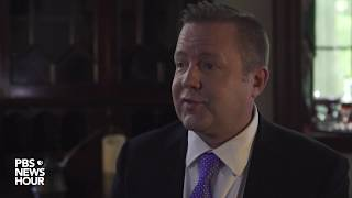 Corey Stewart on confederate monuments and whether anyone is offended by them
