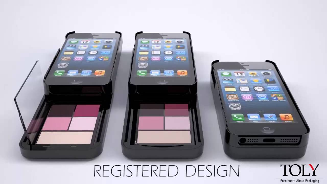 detailed look 00ece 4af01 iPhone Case Makeup Palette - Toly Products
