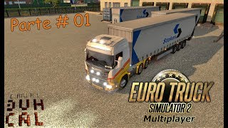 Euro Truck Simulator 2 #35 multiplayer parte 01