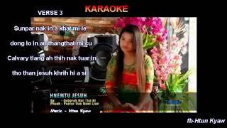 Hnemtu Jesuh II karaoke by Htun Kyaw