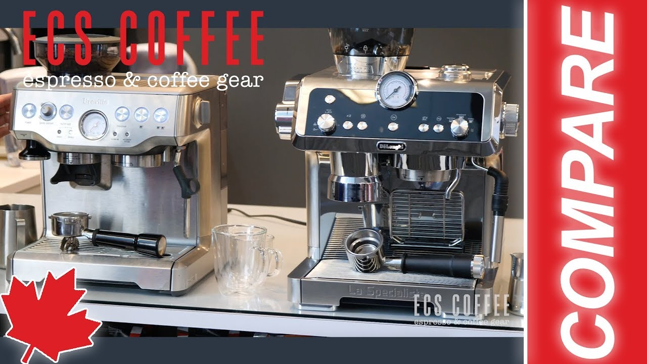 Comparison Breville Barista Express Vs Delonghi La Specialista Which Should You Buy 2019