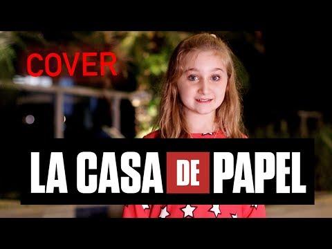 LA CASA DE PAPEL COVER - My life is going on   Luiza Gattai