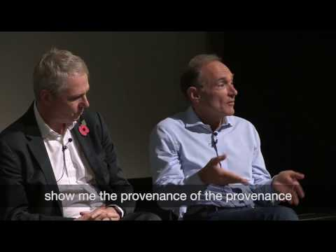 Sir Tim Berners-Lee: Scrutinising the facts with open data