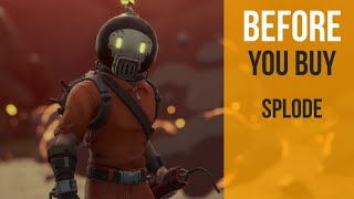 Before You Buy | Splode | Fortnite Skin Review