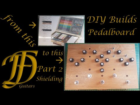DIY Multi-Effect pedal board part 2 - Shielding