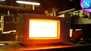 Making Glowing Plasma in a Microwave
