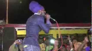 "Sizzla: ""Good Ways"", Roots Bamboo, Negril, Jamaica, 2014"