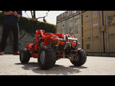 Custom Truck Pick-ups More Power - LEGO Technic - Beyond the Instructions