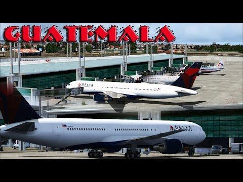 FSX - Delta 767-300 to Guatemala City