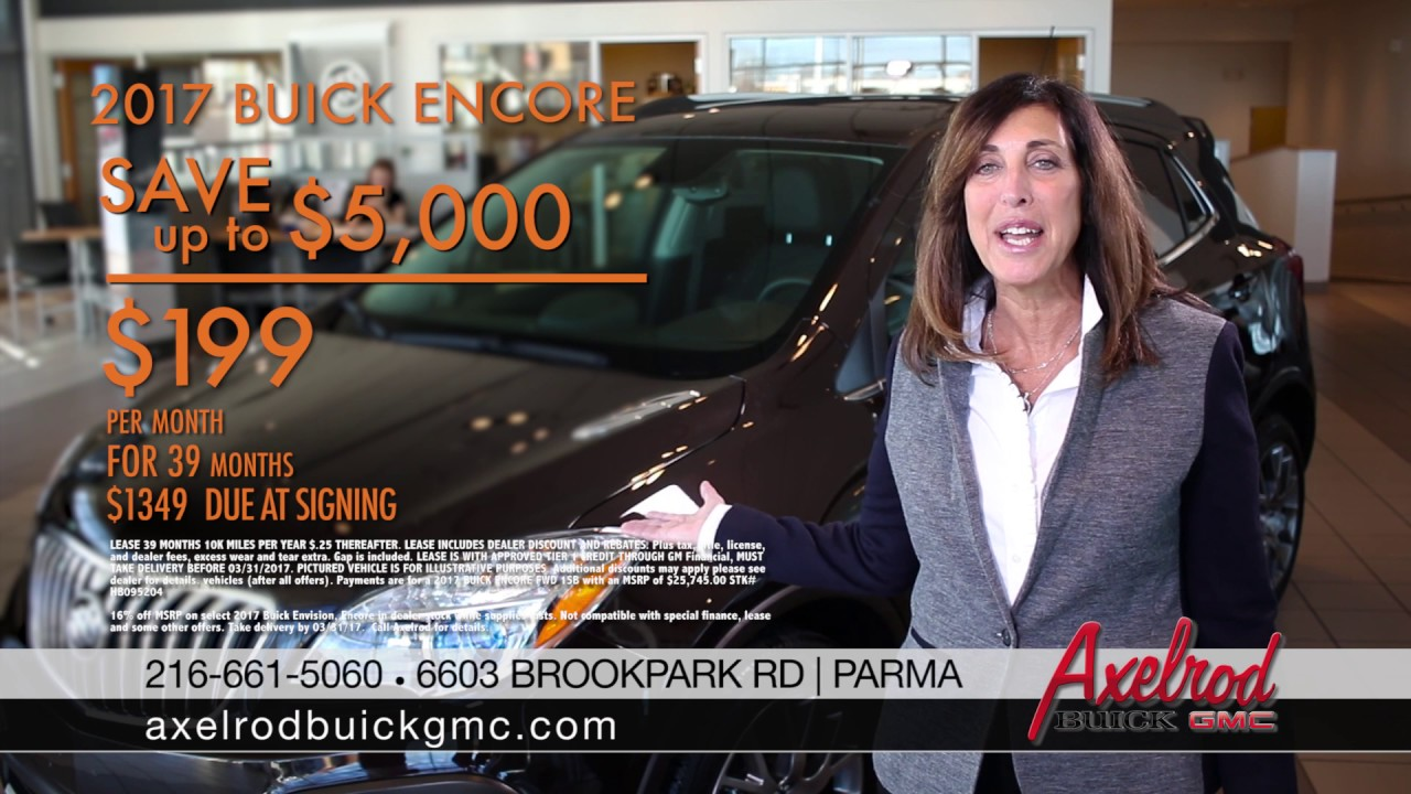 Axelrod Buick March 2017