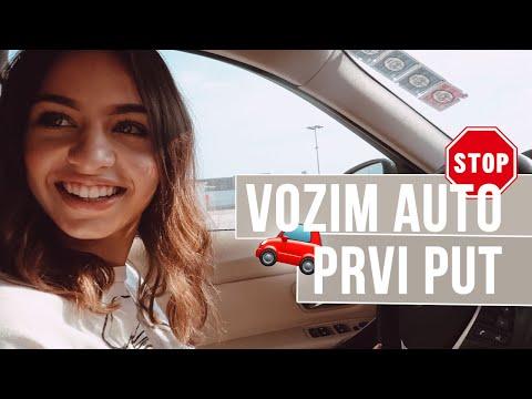 VLOG 33: Prvi put vozim 🚗