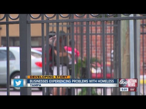 Tampa business owners, homeless square off at Tampa City Council
