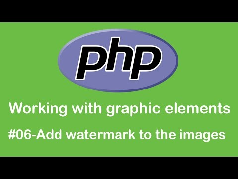 Add watermark to the images PHP tutorial