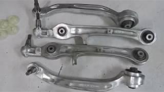 видео Ремонт ходовой Ауди А6 (Audi A6)