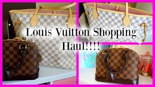 Louis Vuitton Haul and Reveal!!!
