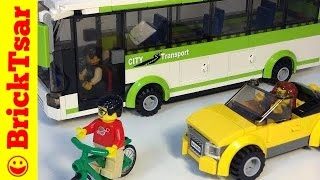 LEGO CITY 8404 Public Transport from 2010 Train, Bus, Car, Street Sweeper