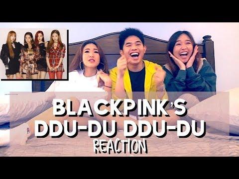 FIRST EVER REACTION VIDEO   BLACKPINKs DDU-DU DDU-DU