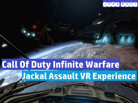 Call of Duty Infinite Warfare - Jackal Assault Playstation VR Experience - Jake Rant